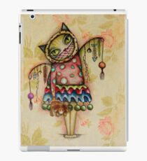 Cat art by ANGIECLEMENTINE iPad Case/Skin