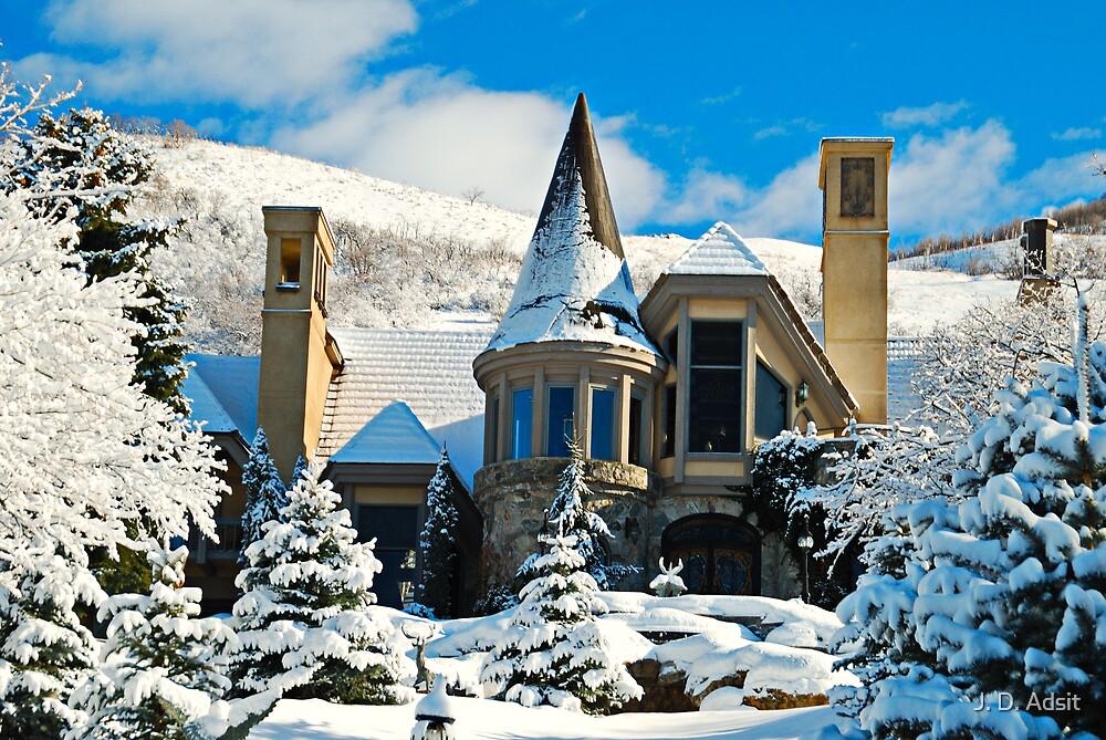 Midwinter Castle by J. D. Adsit