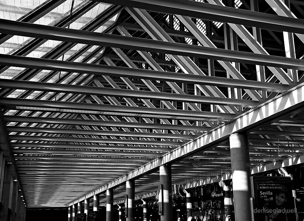Roof detail at the airport. by denisegladwell