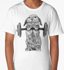 Buns of Steel (Dark) Long T-Shirt