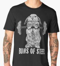 Buns of Steel (Dark) Men's Premium T-Shirt