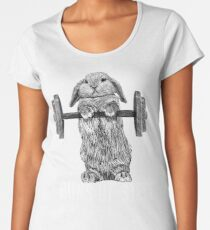 Buns of Steel (Dark) Women's Premium T-Shirt
