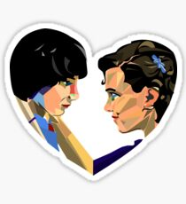 Stranger Things  Mike & Eleven Love Sticker