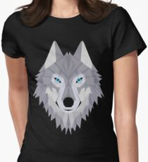 Timber Wolf Women's Fitted T-Shirt