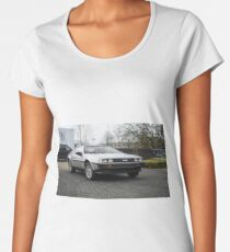DeLorean DMC-12 Women's Premium T-Shirt