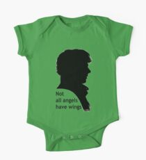 Not All Angels Have Wings - BBC Sherlock One Piece - Short Sleeve