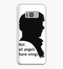 Not All Angels Have Wings - BBC Sherlock Samsung Galaxy Case/Skin