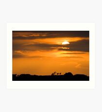 Armadale Sunset Art Print