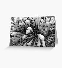 Crystal Needles Greeting Card