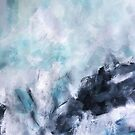 Wave Form Abstract Seascape by melaniebiehle