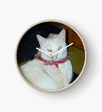 Ghost Cat Clock