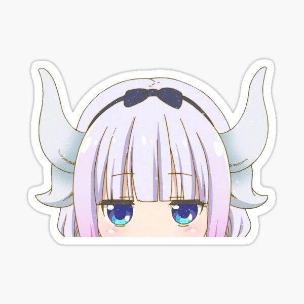 Kanna Peeker Sticker