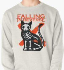 Rückwärts fallen - Skeleton Cat Sweatshirt