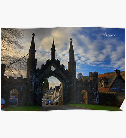 Taymouth Castle Gate Poster
