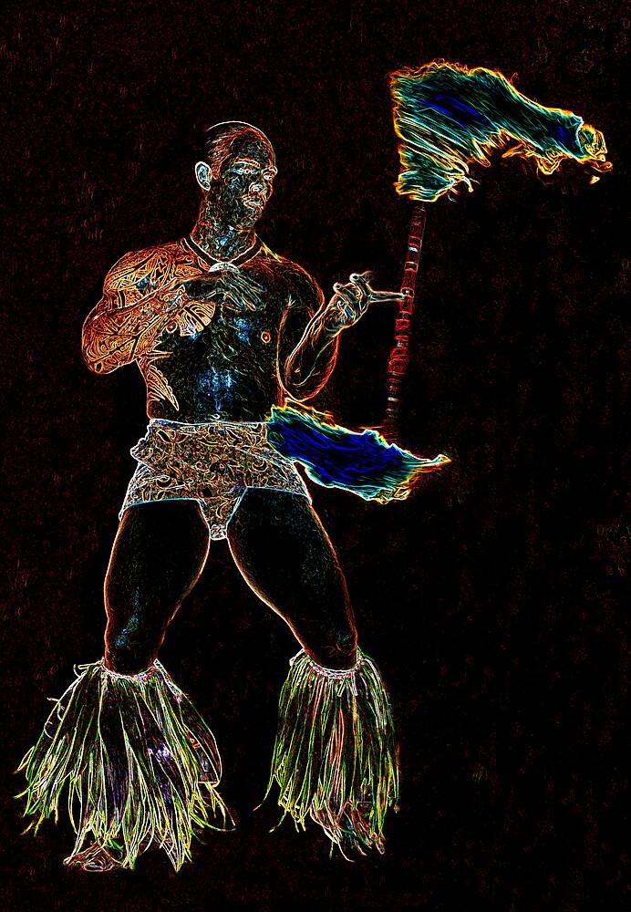 Fire Twirl by Metrius
