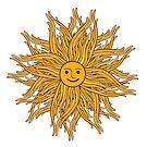 Doodle sun by Elsbet