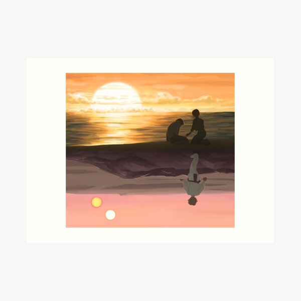 Someone's Out There Art Print
