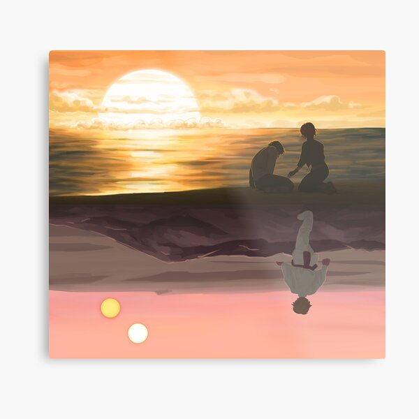 Someone's Out There Metal Print