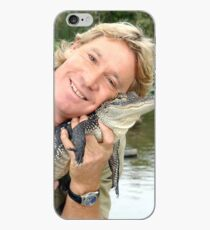 Steve and Baby Gator iPhone Case