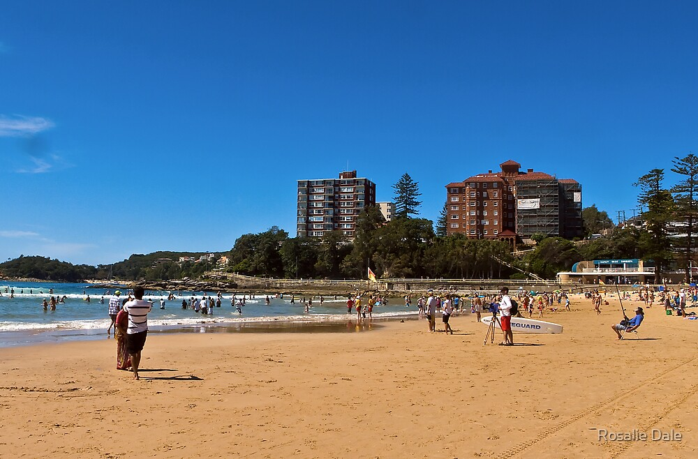Manly Beach ~ No 1 by Rosalie Dale