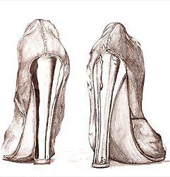 Mirror Heels by Allib