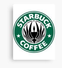 STARBUCK COFFEE Canvas Print