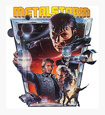 Metalstorm - The Destruction of Jared Syn VHS Post-Apocyptic Photographic Print