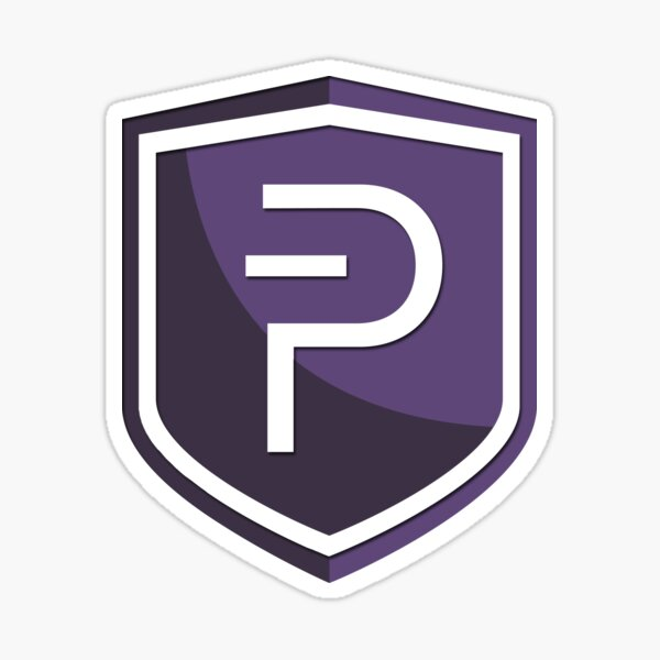 PIVX Coin Cryptocurrency Sticker