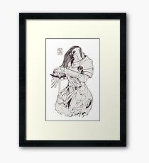 Lady Hawk Framed Print