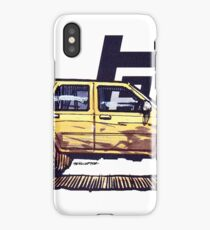 2nd Gen 4Runner TRD - Yellow iPhone Case/Skin