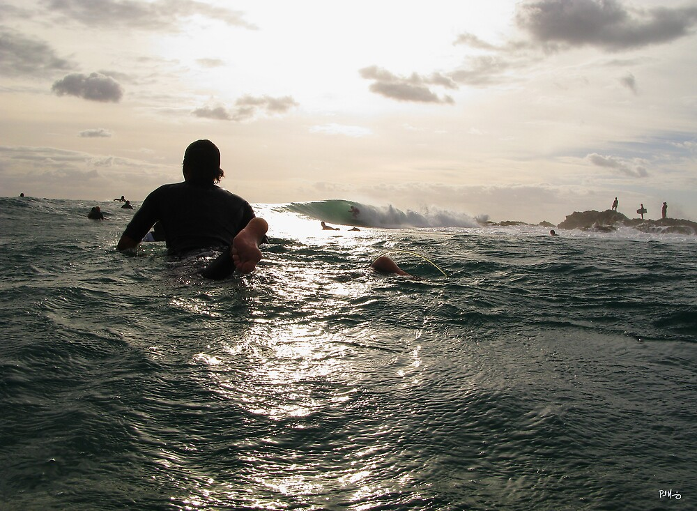 Dodging Surfboards! by Paul Manning
