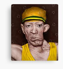 König Yellowman Leinwanddruck