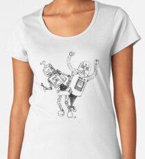 Robot Party!!! Women's Premium T-Shirt