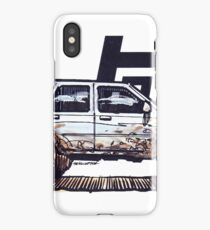2nd Gen 4Runner TRD - Silver iPhone Case/Skin