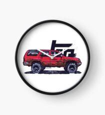 2nd Gen 4Runner TRD - Red Clock