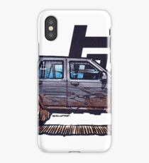 2nd Gen 4Runner TRD - Grey iPhone Case/Skin
