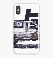 2nd Gen 4Runner TRD - Ghost iPhone Case/Skin
