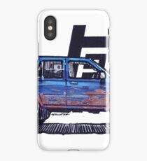 2nd Gen 4Runner TRD - Royal Blue iPhone Case/Skin