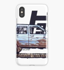 2nd Gen 4Runner TRD - Blue iPhone Case/Skin