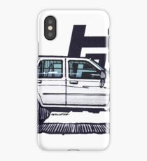 2nd Gen 4Runner TRD - White iPhone Case/Skin