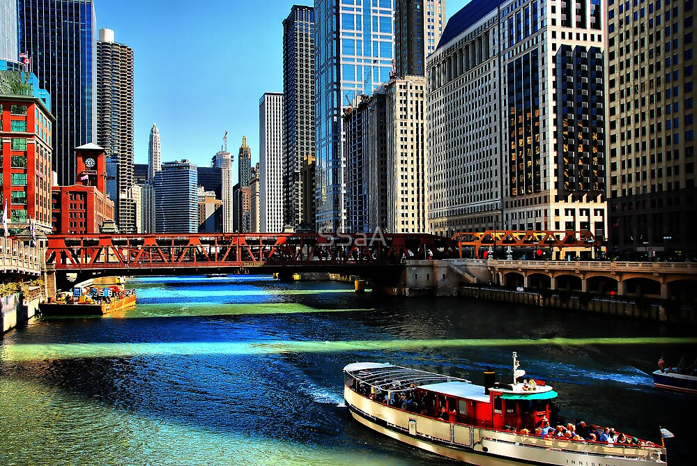 Chicago River by SSaA