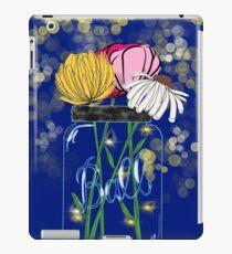 Mason Jar Flowers iPad Case/Skin