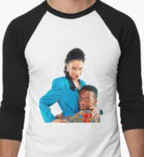 ADW Dwayne and Whitley Men's Baseball ¾ T-Shirt