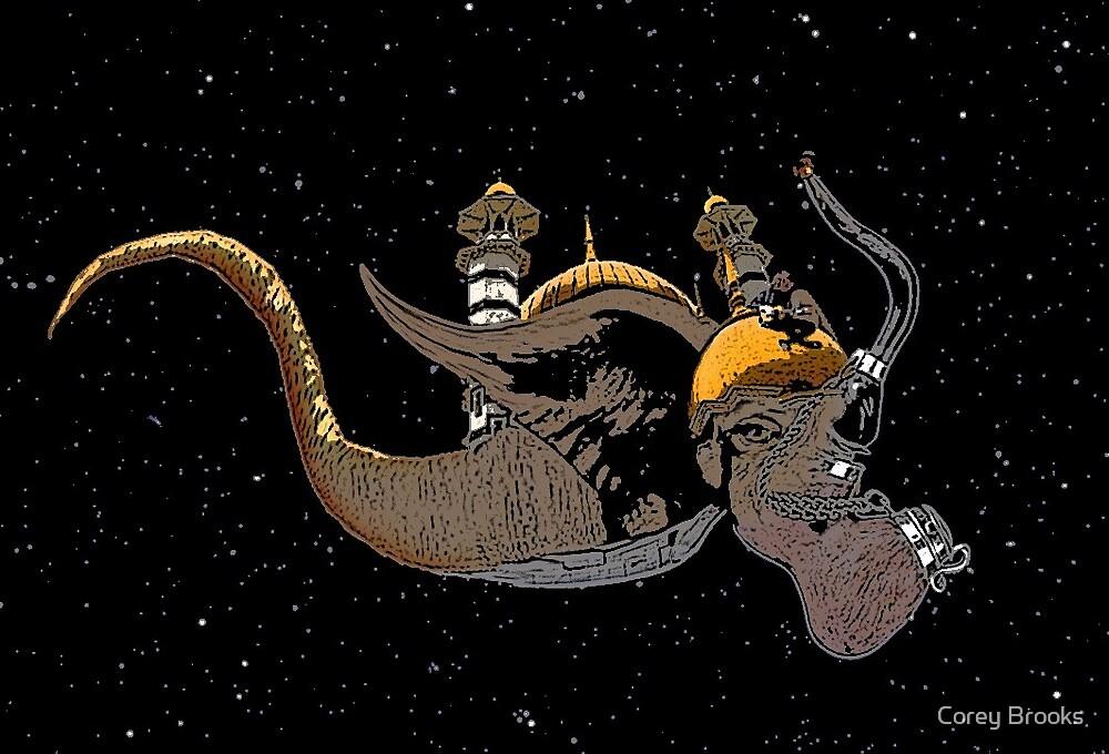 Surreal Elephant by Corey Brooks