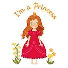 Little girl Princess by Elsbet