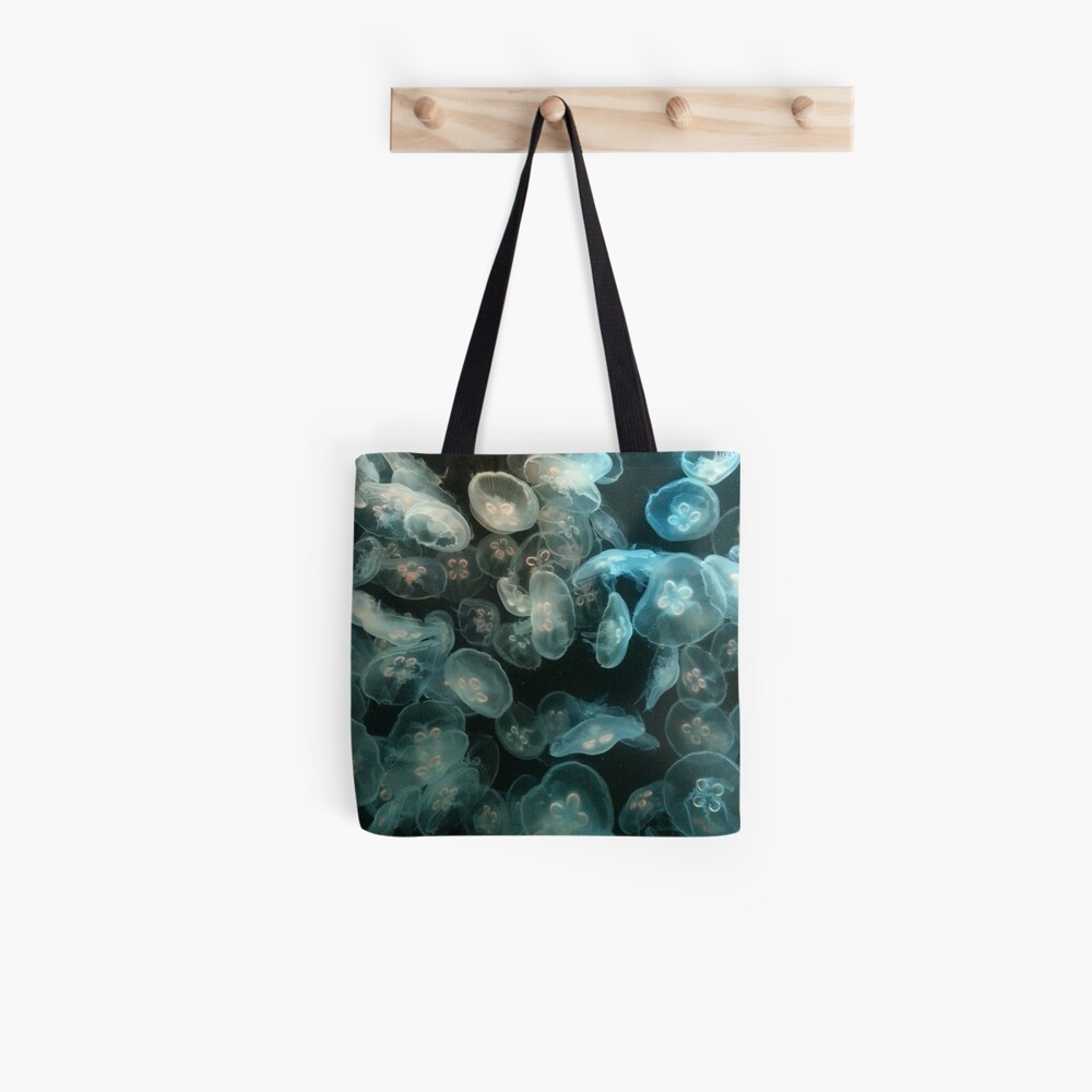 Quallen Stofftasche