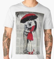 a little rain Men's Premium T-Shirt