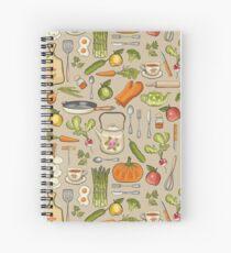 Retro kitchen. Spiral Notebook