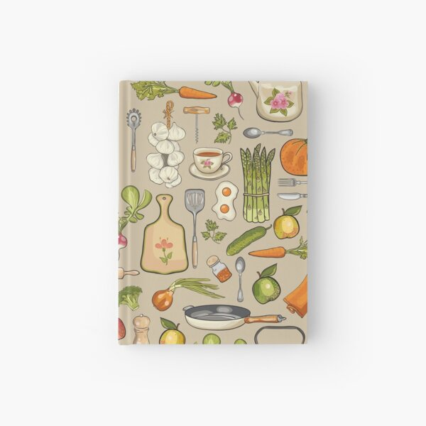 Retro kitchen. Hardcover Journal