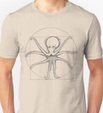 Vitruvian Cephalopod Unisex T-Shirt